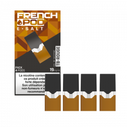 TB ROUGE / 4PCS - FRENCH POD