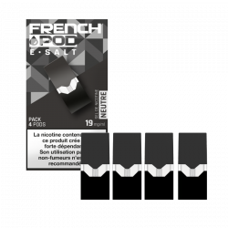NEUTRE / 4PCS - FRENCH POD