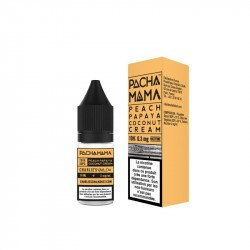 E-LIQUIDE PEACH PAPAYA COCONUT CREAM DE PACHA MAMA 10ML: