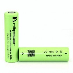 ACCU BRILLIPOWER 18650 3100MAH 40A
