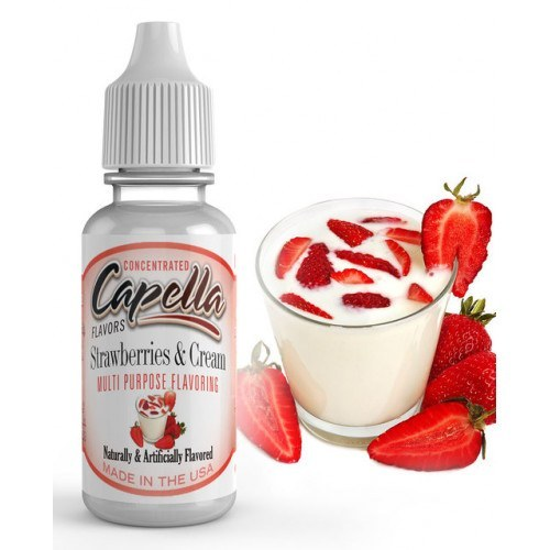 arôme strawberry cream de capella