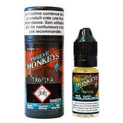 E-liquide Tropika 10 ml de Twelve Monkeys