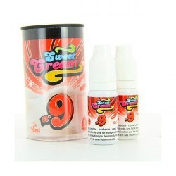 Eliquide Sweet Cream 9 de Eliquid France (2x10ml)