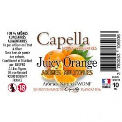 Arôme JUICY ORANGE de Capella