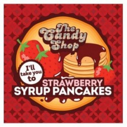 Arôme Strawberry Syrup Pancakes-The Candy Shop par Big Mouth