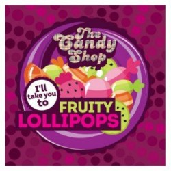 Arôme Fruity Lollipops par The Candy Shop - Big Mouth