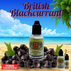 Arôme concentré British Blackcurrant de 77 Flavor