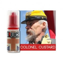 Arôme Colonel Custard - T-Juice 10ml